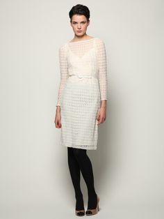 Ambrosia Open Knit Dress by Nanette Lepore on Gilt