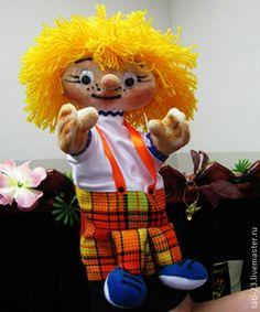 Кукольный театр ручной работы. Ярмарка Мастеров - ручная работа Федюня. Театральная перчаточная кукла.. Handmade.