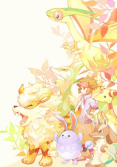 Pokemon #manga #illustration