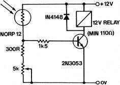 LDR Circuit Diagram | Electronics | Pinterest | Ldr circuit, Circuit ...