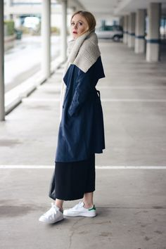 Minimal - Stan Smith - Culottes - Trench - Casual Friday  A PIECE OF ELISE