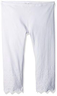 67a43a7e Hue Womens PlusSize Eyelet Trim Cotton Capri Plus Size White XXLarge **  Click image to review more details. (Note:Amazon affiliate link). Ideal  Fashion