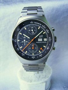 Porsche Design Orfina Vintage Chronograph Automatic Watch 40mm