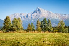 View on mountains of High Tatras and peak Krivan High Tatras, Heart Of Europe, Danube River, Mountain High, Bratislava, Capital City, Countries Of The World, Homeland, Beautiful World