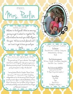All About the Teacher {Back to School Printables}