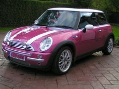 4 door mini cooper pink | October 2010 | PorcelainDolly