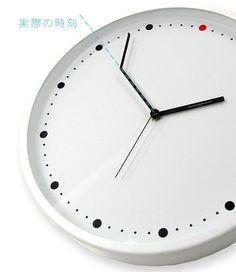 あと3分早く行動すれば、遅刻しなかったのに。掛け時計 ON-TIME - まとめのインテリア / デザイン雑貨とインテリアのまとめ。