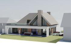 Design Villa Moderne, Modern Villa Design, Dream House Interior, Dream Home Design, Conception Villa, Modern Bungalow Exterior, House Plans Australia, Small Villa, Modern Barn House