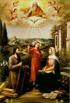 Jesus, Maria e José, iluminai-nos, socorrei-nos e salvai-nos. Amém.