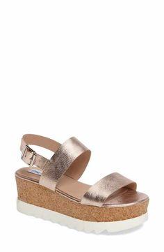 31fd0190990 Steve Madden Krista Wedge Sandal (Women) Only Shoes