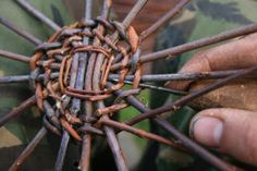 basket weaving tutorial ~ I have probably already pinned this...