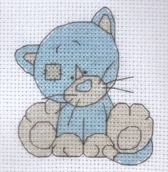 Tatty Teddy and Friends Cross stitch