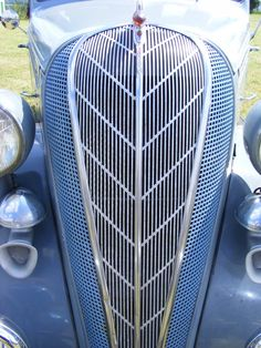 An amazingly designed grille - the Hudson