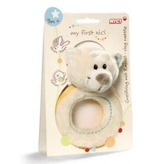 My First NICI - Ring Rattle Taps Bear