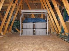 When It Comes To Organizing The Attic, There Is No Better Way To Start Than  Using The Versalift System.Even Our Self Installed Customer Agrees!