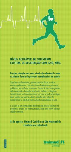 Dia Nacional de Combate ao Colesterol.