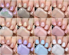 Zoya Bridal Bliss Collection Swatches