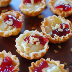Raspberry Brie Tartlets a really quick appetizer with only 4 ingredients! Raspberry Brie Tartlets a really quick appetizer with only 4 ingredients! Quick Appetizers, Finger Food Appetizers, Appetizer Recipes, Dessert Recipes, Brie Appetizer, Elegant Appetizers, Avacado Appetizers, Prociutto Appetizers, Fruit Appetizers