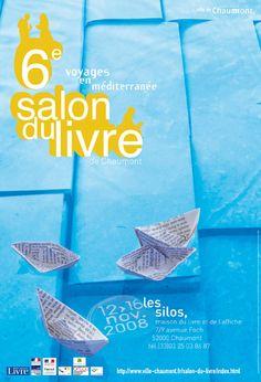 Salon du Livre de Chaumont, les silos, maison du livre et de l'affiche - Méditerranées