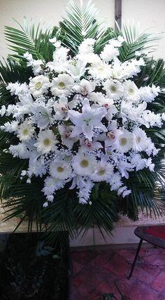 Casket Flowers, Altar Flowers, Church Flowers, Flower Wreath Funeral, Funeral Flowers, Funeral Floral Arrangements, Large Flower Arrangements, Funeral Sprays, Memorial Flowers