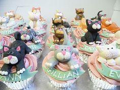 cupcakes cats - Buscar con Google