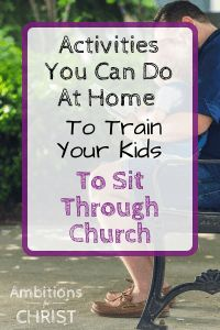 Do you want to train your kids to sit through church? Christian Parenting, Christian Homeschool, Prayer For Church, Raising Godly Children, Sermon Notes, Bible Study For Kids, Levels Of Understanding, Christian Kids, Hands On Activities