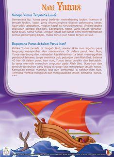 40 Hari Nabi Yunus di dalam Perut Ikan Kids Story Books, Stories For Kids, Islamic Inspirational Quotes, Islamic Quotes, Islam And Science, Doa, Ramadan Day, Shia Islam, Islamic Pictures