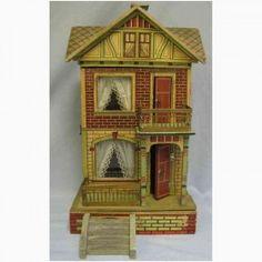 Gottschalk Moritz Gebäude Puppenhaus lithografiert,... .....Rick Maccione-Dollhouse Builder www.dollhousemansions.com