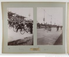 F. 8v. [Grand Prix cycliste de la République, 23, 27, 30 juin 1901]; Moose Art, Images, Polaroid Film, Animals, Sport Photography, Athlete, Animales, Animaux, Animal