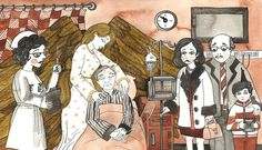 Illustration for 'The Angel Watches' by Terri Kelleher