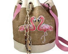 Pink Flamingo Shoulder Bag