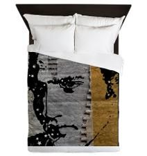Elvis The King Queen Duvet
