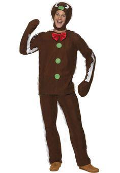 Gingerbread-Man Costume - Christmas Costumes at Escapade™ UK