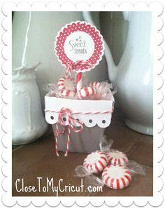 Cute little box made with the ARTISTE Cricut Collection by Close To My Heart! CloseToMyCricut.com