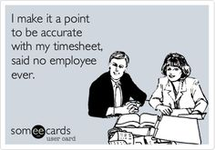 The Problem with Timesheets