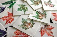 maple leaf prints