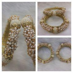 Bangles - Online Shopping for Bracelets n Bangles by Saachi Silk Thread Bangles, Thread Jewellery, Jewellery Shops, Fashion Jewellery, Indian Wedding Jewelry, Indian Jewelry, Fancy Store, Handmade Jewelry, Diy Jewelry