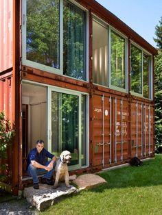 cargo shipping container house design