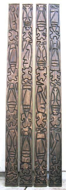Tiki Objects by Bosko - Tiki Bar Molding Signs and Accessories Tiki Hut, Tiki Tiki, Tiki Bar Decor, Tiki Totem, Wood Molding, Moldings, Tiki Lounge, Tiki Mask, Tiki Party