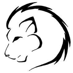 New Tattoo Lion Simple Tatoo Ideas Simple Tattoos For Guys, Trendy Tattoos, Cute Tattoos, Small Tattoos, Simple Lion Tattoo, Form Tattoo, Shape Tattoo, Wrist Tattoo, Leo Tattoo Designs