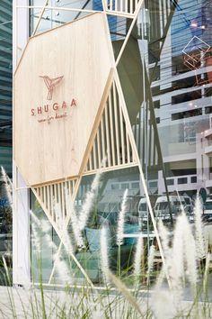 [shugaa facade and signage #facade]