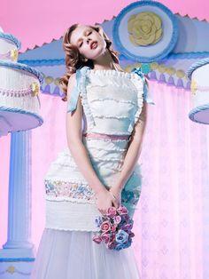 Frida Gustavsson by Daniel Sannwald for POP SS12' xx