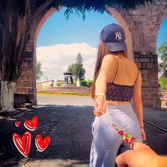 Uno de los lugares más visitados de Morelia, es la Fuente de las Tarascas. ¡Ven y enamórate de este lugar! #SomosMichoacán ❤
