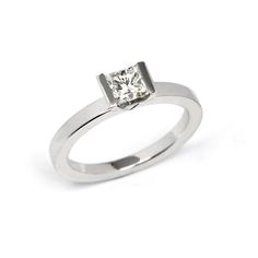 Contemporary Engagement Ring - Stonechat Jewellers