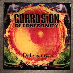 CORROSION OF CONFORMITY Deliverance Coaster Record Cover Ceramic Tile