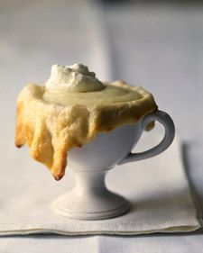 For Christmas/Winter:  Eggnog Cups dessert