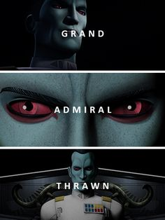 I miss it but THRAWN is back and he is CANON again