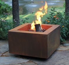 Western Log Home Supply Core 10 Firepit
