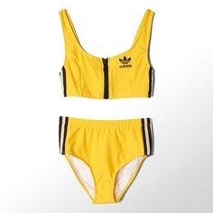 Adidas Jeremy Scott Women's NYC Taxi Bikini  #adidas #BodySuit