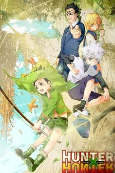 Kurapika, Leorio, Killua, and Gon ~Hunter X Hunter